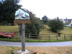 ROCKLAND ST MARY Village sign