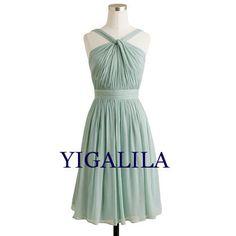 Lady dress/bridesmaid dress/wedding dress/halter by YIGALILA, $58.00