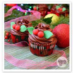 Cupcakes de chocolate especiado