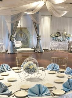 Friendly enacted quinceanera party decorations Order Now Cinderella Sweet 16, Cinderella Theme, Cinderella Birthday, Cinderella Wedding, Cinderella Centerpiece, Cinderella Decorations, Cinderella Invitations, Princess Centerpieces, Cinderella Cosplay