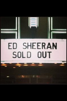 """""""I won't stop until my names in lights at stadium heights."""" ^^ So bloody proud of you️ Lego House, Proud Of You, Ed Sheeran, In This World, Lyrics, Told You So, Singer, Totally Awesome, Celebs"""
