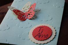 Biglietto Farfalle in volo: San Valentino di CreArtePapercrafts su Etsy