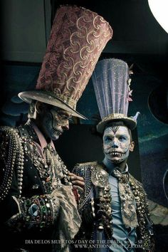 Day of the dead steampunk