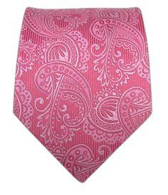 Twill Paisley - Pink