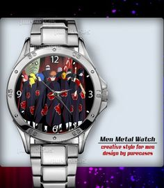 Metal Watches Shippuden Kisame and Itachi Anime #1 Men's Sport Watch | purecases - Jewelry on ArtFire