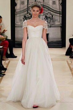Too girly? #weddinggown
