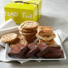 Cookie and Brownie Gift Box #williamssonoma