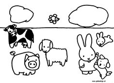 Decent Nijntje Kleurplaat that you must know, You're in good company if you're looking for Nijntje Kleurplaat Farm Crafts, Baby Stickers, Miffy, Good Company, Green And Purple, Embroidery Patterns, Coloring Pages, Childhood, Snoopy