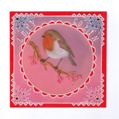shippy   docrafts.com Christmas Cards, Xmas, Parchment Cards, Robin, Paper Crafts, Clarity, Card Ideas, Craft Cards, Frame