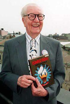 UNIVERSO DISNEY: Carl Barks: Um gênio incomparável na sua arte