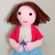 Ravelry: Purla the doll pattern by Browneyedbabs