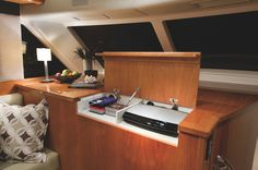 Riviera 63 Open Flybridge Series II - Shaft Drive | Saloon Entertainment