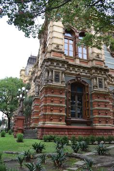 El Palacio de las Aguas Corrientes _ El Palacio de las Aguas Corrientes known today as the Aguas Argentinas building, built between 1887 and 1894, is to my knowledge and opinion one of the finest examples of European architecture in the city of Buenos Aires, Argentina. It was built to house the current water tanks and supply the city and solve the growing problems of health which was mainly associated with the exponential growth that the city lived to late nineteenth century.