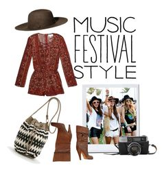 """""""FSTVL"""" by egaemgyu on Polyvore featuring Gucci, PacSun and H&M"""