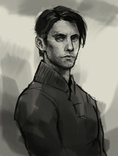 Drawing Peter Petrelli from Heroes.