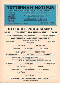 Tottenham Hotspur v Charlton Athletic