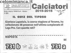 Calciatori 2015-2016: Retro Figurina n. 731 Michele Fornasier - Riccardo Fiamozzi