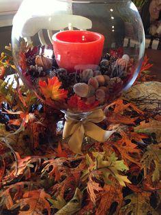 Savvy Seasons by Liz: Fall Tabletop Display