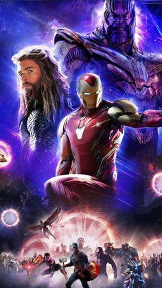Thor, Iron Man, Thanos, Avengers Endgame, HD Mobile and Desktop wallpaper resolutions. Marvel Vs Dc Comics, Marvel Avengers Assemble, Marvel Art, Marvel Heroes, Marvel Characters, Marvel Movies, Avengers Vs Thanos, Iron Man Avengers, Avengers Art