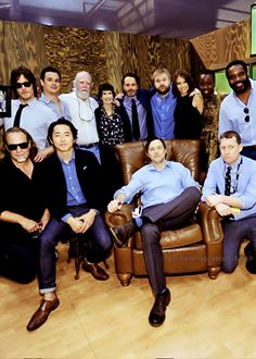 Cast & Crew of The Walking Dead, SDCC