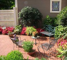 Outdoor rooms are wonderful projects for spring and summer decorating