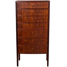 Ole Wanscher Lingerie Chest, 1950s | From a unique collection of antique and modern Dressers at https://www.1stdibs.com/furniture/storage-case-pieces/dressers/.