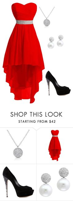 """""""Untitled #74"""" by green-luv5 on Polyvore featuring Anne Sisteron, Casadei, Effy Jewelry, Prom, love, date, hot and formal"""