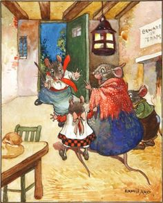 IN RUSHED MOUSIE CRUSOE by ERNEST ARIS