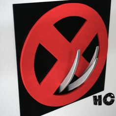 Discount 50% on shipping Superhero Wolverine Wall art Kids