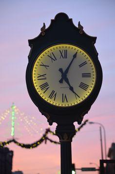 unique old clock.