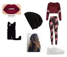 """""""Little Cat"""" by marianaraposo on Polyvore featuring Rick Owens and Smashbox"""