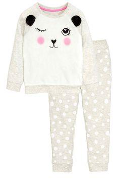 Pyjama en molleton | H&M