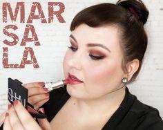#MARSALA Makeup Look http://www.magi-mania.de/marsala-makeup-ein-must-go-im-herbst-2016/