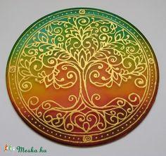 Celtic Tree Of Life, Painted Chairs, Mandala Art, Page Design, Folk Art, Decorative Plates, Meditation, Doodles, Symbols