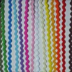 1 Roll of 2 yd x 5 mm Ric Rac  Ribbon Cards Sewing or Craft ***Choose***