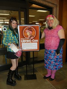 Library-Con!!!  Like Comic-Con or Youma-Con!  This would be fun for teen lock-in!