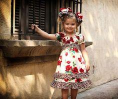vestidovolantes niña | Antes de dejaros os quisiera enseñar una muestra del trabajo