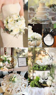 Dreamy and Romantic Wedding Reception