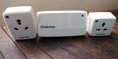 Oakter has come out with something known as the Oakter Smarthome Starter's Kit which includes smartplugs and sockets that can be controlled via an app. It is available on both iOS and Android app stores. The Oakter Smarthome Starter's Kit comes with one main hub, an adapter and two smart plugs. The main hub is rectangular and connects to your home WiFi. The other two smart plugs look like a regular multi-plug but are light-weight.