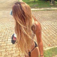 Prolonged Blonde Balayage | 2015 Hairstyle Ideas
