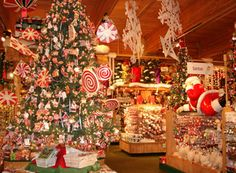 Bronner's has every Christmas decoration you could ever dream of - and then some!