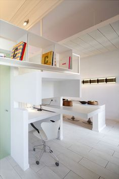 Working in this desk nook would be like dying and going to heaven | Architect Héctor Ruiz-Velázquez home in Madrid