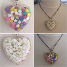 A personal favorite from my Etsy shop https://www.etsy.com/ca/listing/450438940/sprinkles-necklace-teddy-bear-flowers