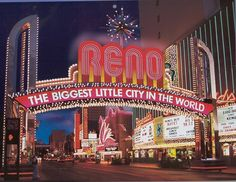Reno Arch; Reno, Nevada, USA, Designed by my friend and co worker, Danny Edwards.