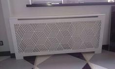 Laser cut radiator screen