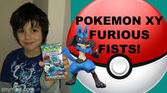 #VIDEO: Baby Brother Opens a #Pokemon XY Furious Fists Booster Pack! Jenna Em Channel  WATCH: https://youtu.be/DVT9-OO6WJ8