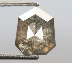 0.81 Ct, 6.5 X 5.5 X 2.7 MM, Geometric Shape Grey Black Color Natural Loose Beautiful Diamond, Fancy Rustic Diamond, Diamond Jewelry, R828 by VishwaImpex on Etsy Rough Diamond, Rose Cut Diamond, Pepper Color, Champagne Color, Conflict Free Diamonds, Natural Diamonds, Geometric Shapes, Colored Diamonds, Ring Designs