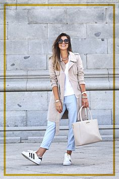 adidas superstar look - keeping it cool and casual
