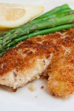 Parmesan Crusted Tilapia - Fast, Easy and Healthy!