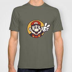 Mario Peace T-shirt by Shea Kennedy - $22.00